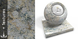 limoncello button textura 3d